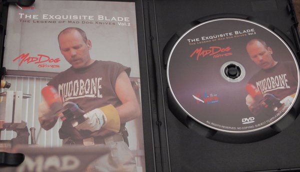 "画像1: MadDog DVD  ""THE EXQUISITE BLADE VOL.2-THE LEGEND OF MADDOG KNIVES"" (1)"