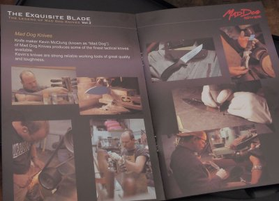 "画像1: MadDog DVD  ""THE EXQUISITE BLADE VOL.2-THE LEGEND OF MADDOG KNIVES"""