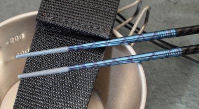 画像1:  CHOPSTICK SET(チタン箸)Blue/Purple