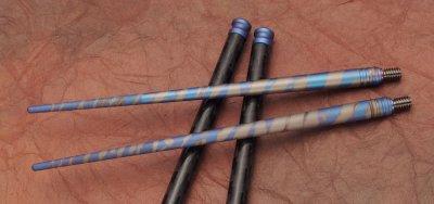 画像2:  CHOPSTICK SET(チタン箸)Blue Multi