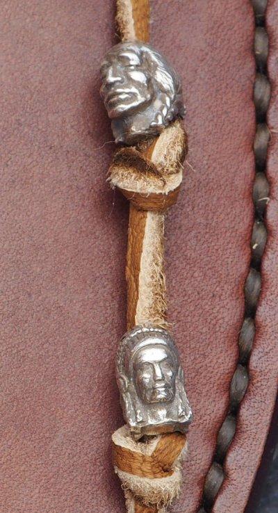 画像1: 島田英承シルバーアクセサリー インディアンと酋長