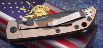 画像2: Spartan Harsey Folder -SPECIAL EDITION - SPRTAN HELMET