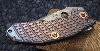 画像2: Steve Ryan MODEL-1S FOLDER 両側Titanium(その1)
