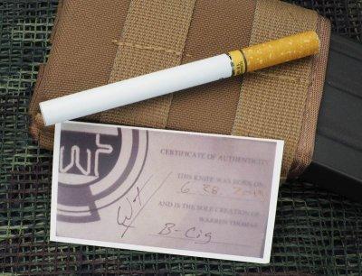 画像1: Warren Thomas 電子タバコ型仕込みスパイク