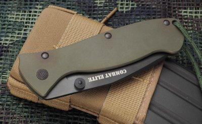 画像3: COMBAT ELITE フォールディングナイフ・OD