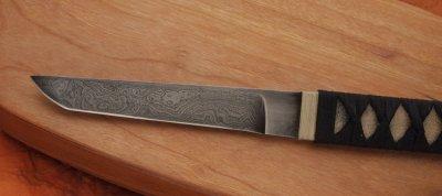 画像3: ウォーリーヘイズ ダマスカスタントー(ナイフのみ)