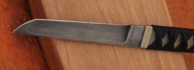 画像2: ウォーリーヘイズ ダマスカスタントー(ナイフのみ)