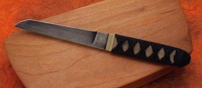 画像1: ウォーリーヘイズ ダマスカスタントー(ナイフのみ)